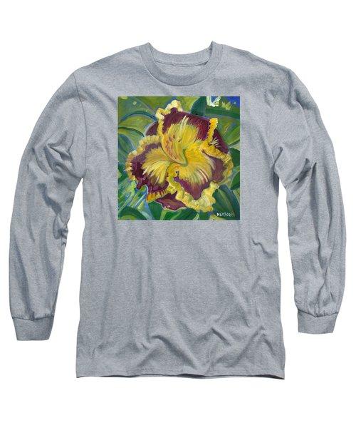 Hibiscus 2 Long Sleeve T-Shirt by John Keaton