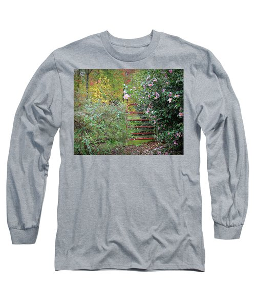 Hidden Gate Long Sleeve T-Shirt by Bellesouth Studio