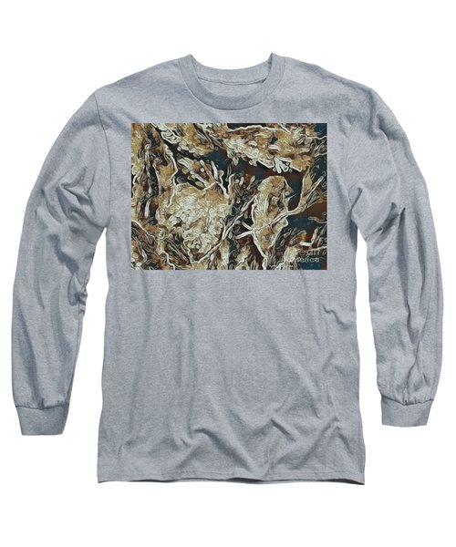 Hidden In Plain Sight Long Sleeve T-Shirt by Kathie Chicoine