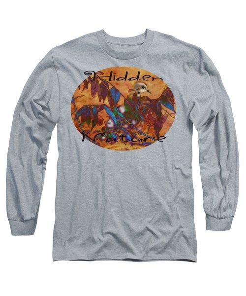 Hidden Nature - Abstract Long Sleeve T-Shirt by Anita Faye