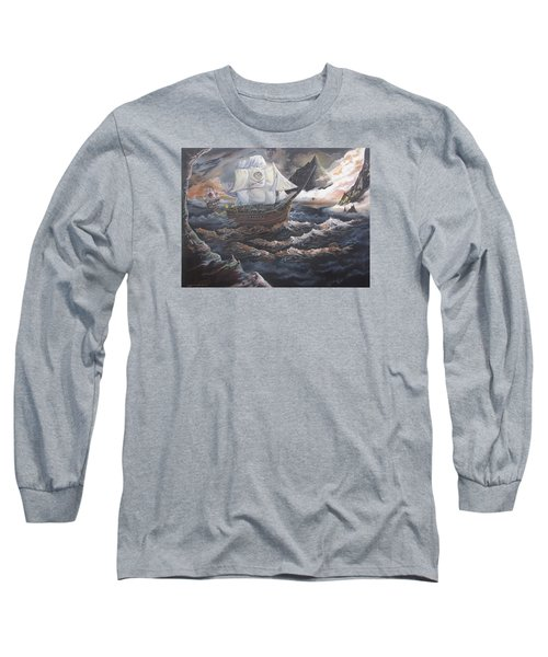 Hidden Skull Cove Long Sleeve T-Shirt