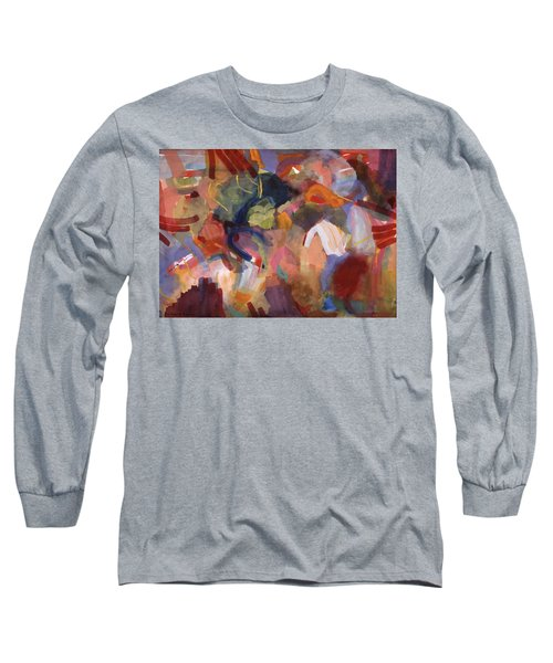 Hiding From Life Around Me Long Sleeve T-Shirt