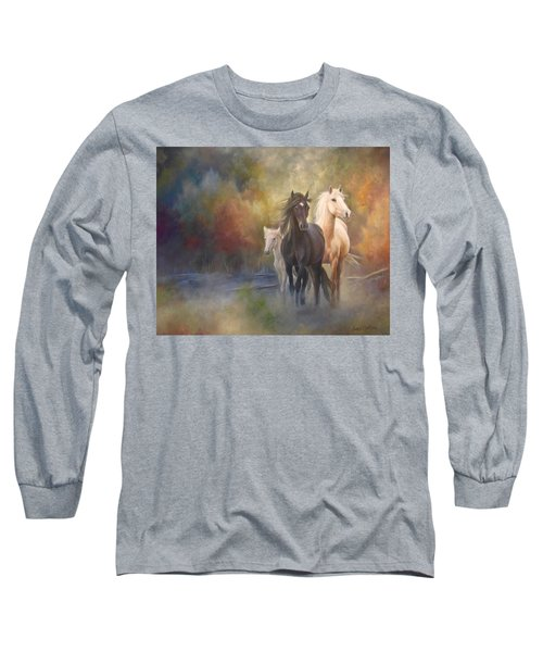 Hiding In The Mist Long Sleeve T-Shirt