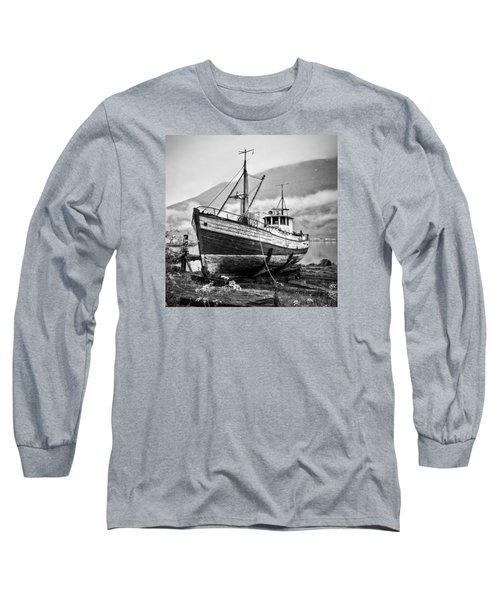 High And Dry Long Sleeve T-Shirt by Brad Grove