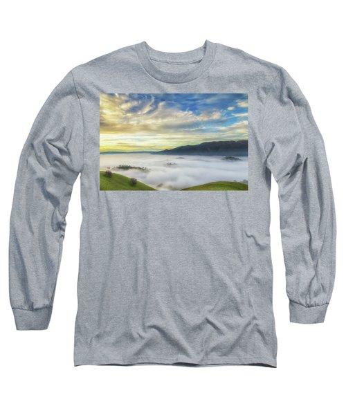 High Clouds Above Fog Long Sleeve T-Shirt