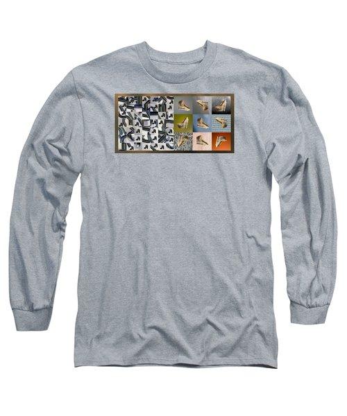 High Heel Study Long Sleeve T-Shirt by Paul Moss