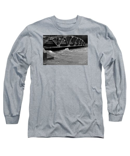 High Water Long Sleeve T-Shirt by Randy Bodkins