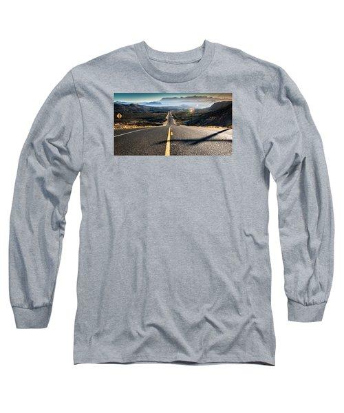 Highway 170 To Big Bend Long Sleeve T-Shirt