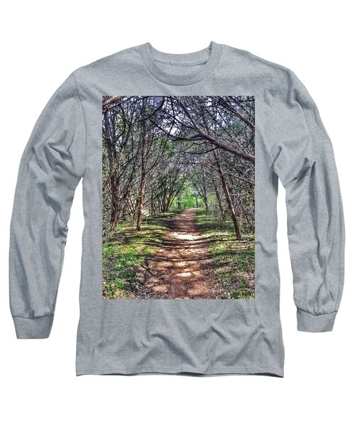 Hiking Meridian State Park  Long Sleeve T-Shirt