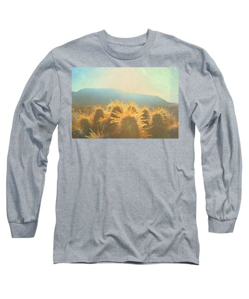 Long Sleeve T-Shirt featuring the photograph Hill Top Sunset  by Mark Ross