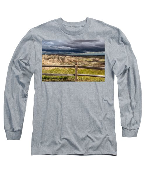 Hills Behind The Fence Long Sleeve T-Shirt