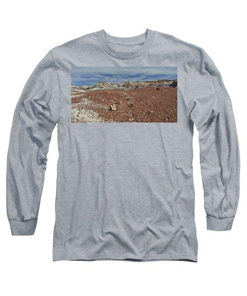 Long Sleeve T-Shirt featuring the photograph Hillside Hues by Gary Kaylor