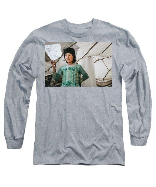 Himalayan Girl Long Sleeve T-Shirt