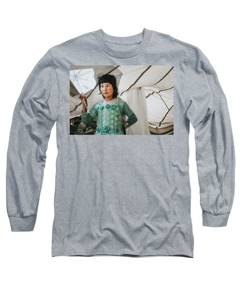 Himalayan Girl Long Sleeve T-Shirt