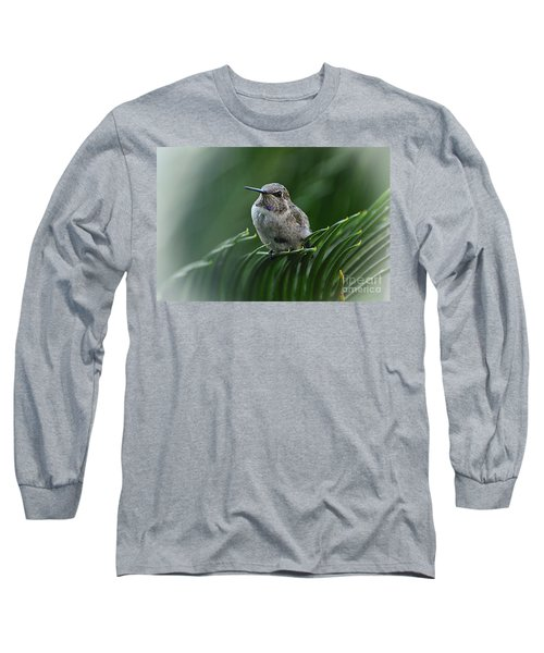 Long Sleeve T-Shirt featuring the photograph Hint Of Purple by Debby Pueschel