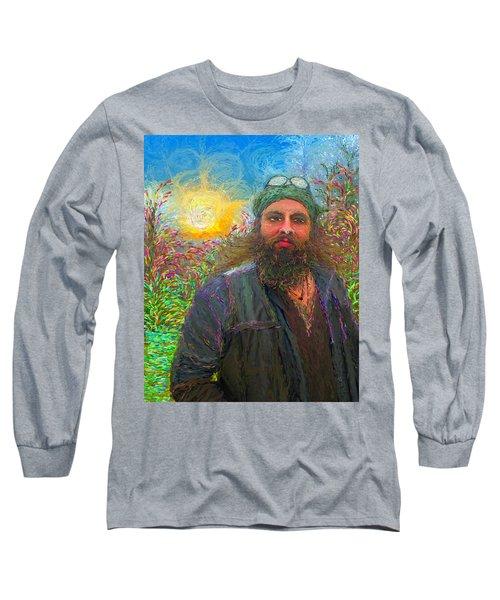 Hippie Mike Long Sleeve T-Shirt