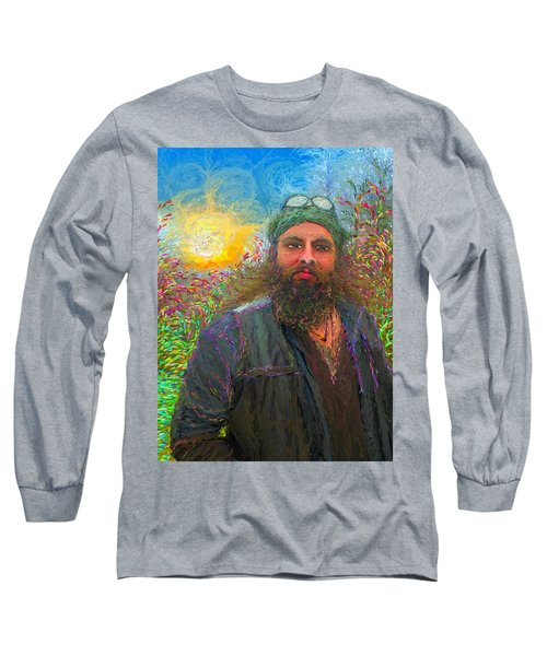 Hippie Mike Long Sleeve T-Shirt