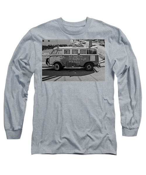 Hippie Van, San Francisco 1970's Long Sleeve T-Shirt