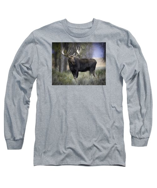 His Majesty Long Sleeve T-Shirt by Elizabeth Eldridge