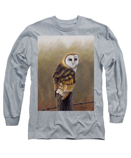 Long Sleeve T-Shirt featuring the painting His Majesty Sits by Dan Wagner