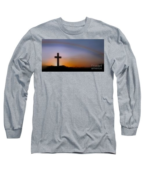 Long Sleeve T-Shirt featuring the photograph His Promise by Benanne Stiens