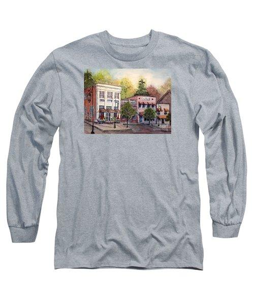 Historic Blue Ridge Shops Long Sleeve T-Shirt by Gretchen Allen