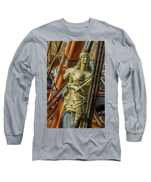 Long Sleeve T-Shirt featuring the photograph Hms Surprise by Bill Gallagher