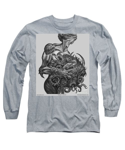 Holding A Grudge  Long Sleeve T-Shirt by Tony Koehl