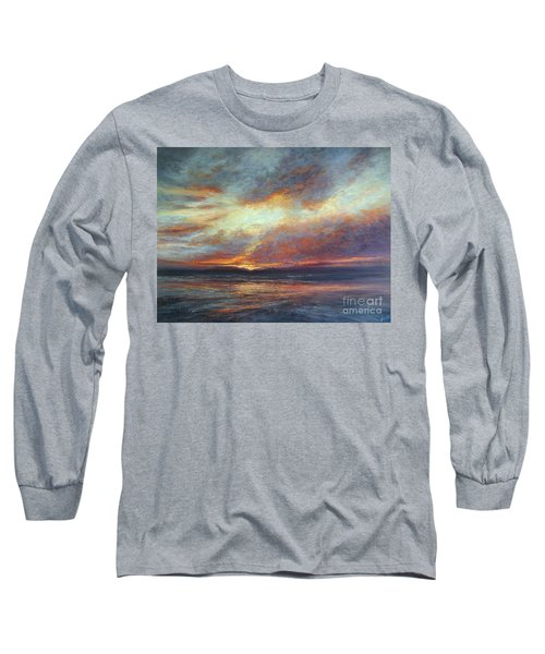 Holding On A Little Longer Long Sleeve T-Shirt by Valerie Travers