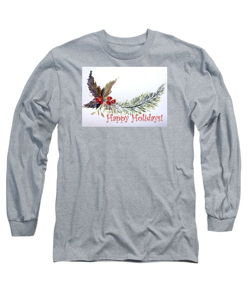 Holidays Card - 2 Long Sleeve T-Shirt