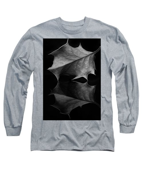 Holly Leaf Long Sleeve T-Shirt