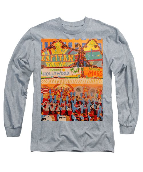 Hollywood Parade Long Sleeve T-Shirt by Rodger Ellingson