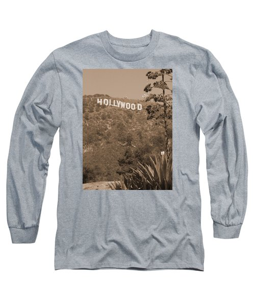 Hollywood Signage Long Sleeve T-Shirt