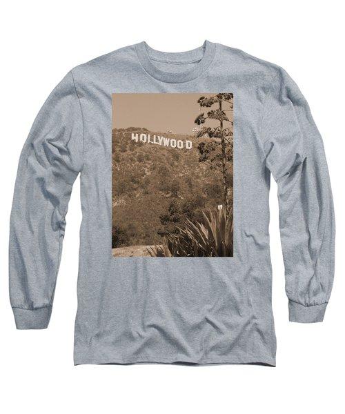 Hollywood Signage Long Sleeve T-Shirt