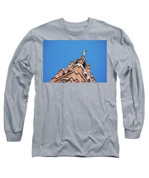 Huguenot Church Long Sleeve T-Shirt by Ed Waldrop