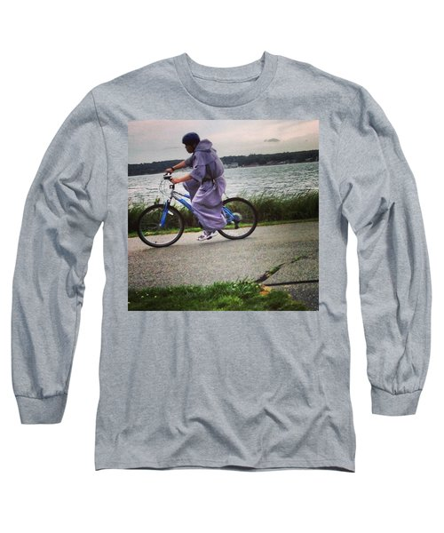 Holy Man Going For A Spin  Long Sleeve T-Shirt