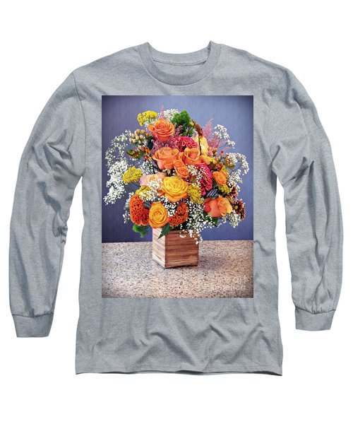 Long Sleeve T-Shirt featuring the photograph Holy Week Flowers 2017 by Sarah Loft