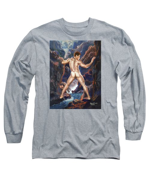 Homage To Parrish Long Sleeve T-Shirt