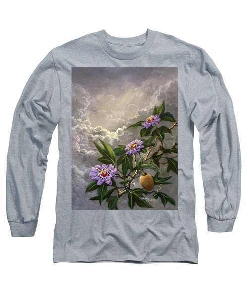Homage To The Passion Vine Long Sleeve T-Shirt