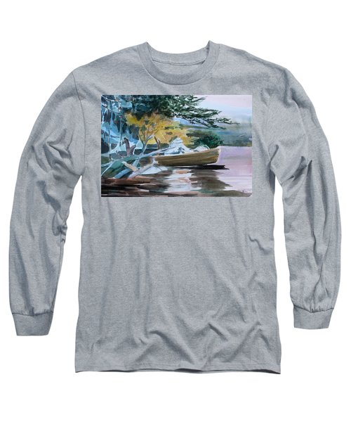 Homage To Winslow Homer Long Sleeve T-Shirt by Mindy Newman