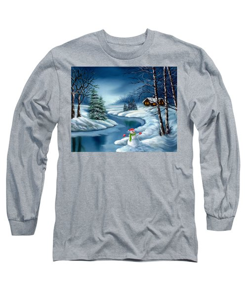 Home For The Holidays Long Sleeve T-Shirt
