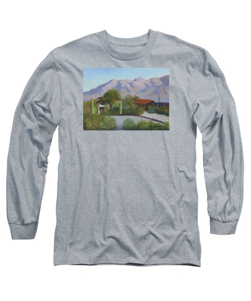 Home In The Catalinas Long Sleeve T-Shirt by Susan Woodward