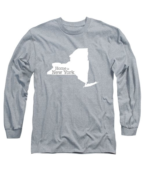 Home Is New York Long Sleeve T-Shirt by Bruce Stanfield
