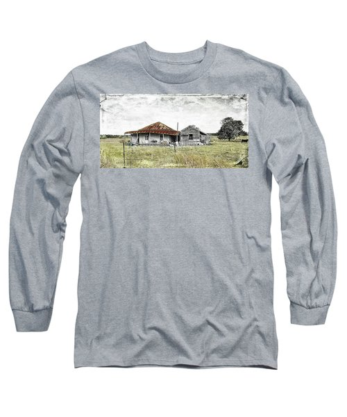 Home Sweet Home 001 Long Sleeve T-Shirt by Kevin Chippindall