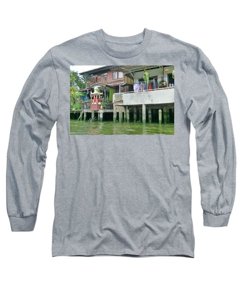Homes On The Water Long Sleeve T-Shirt