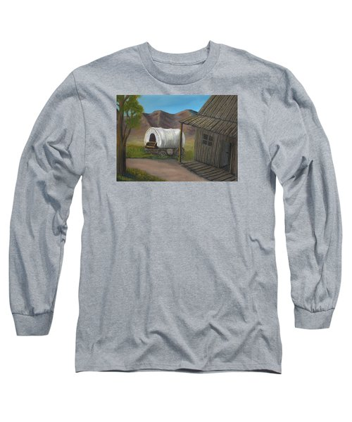 Homestead Long Sleeve T-Shirt by Sheri Keith