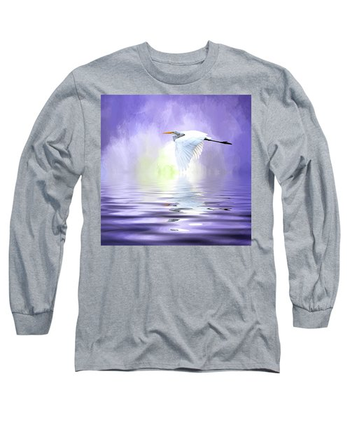Homeward Bound Long Sleeve T-Shirt by Cyndy Doty