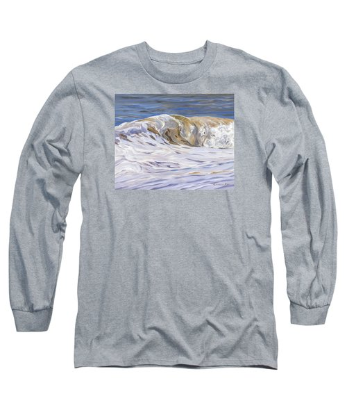 Long Sleeve T-Shirt featuring the painting Honey Wave by Lawrence Dyer