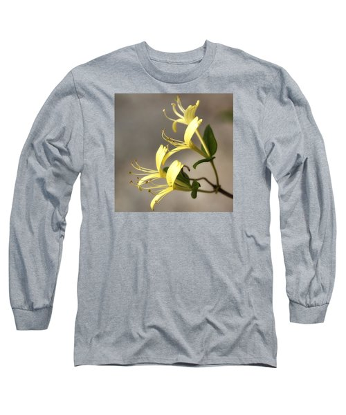 Honeysuckle  Long Sleeve T-Shirt by Shirley Mitchell