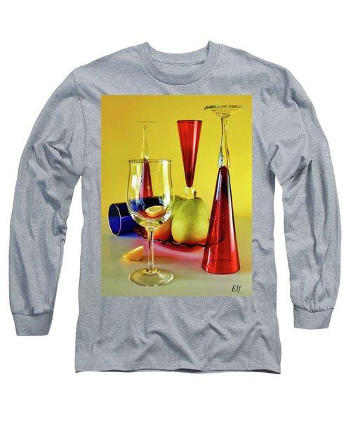 Honor To  Mondrian  Long Sleeve T-Shirt